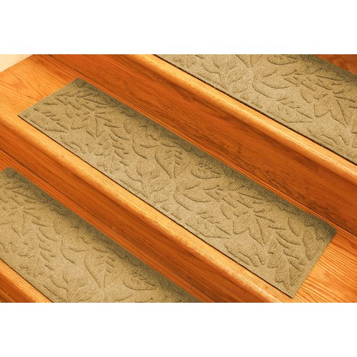 Bungalow Flooring Aqua Shield Gold Fall Day Stair Tread (Set of 4)