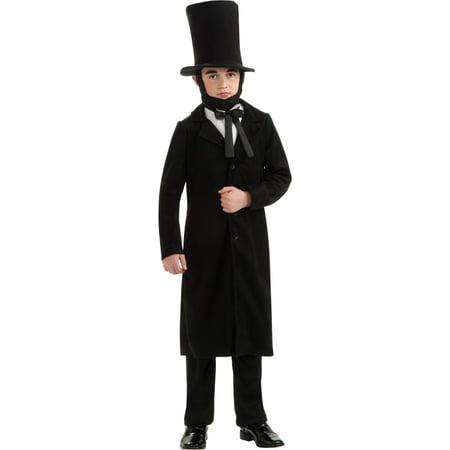President Abraham Lincoln Child Halloween Costume