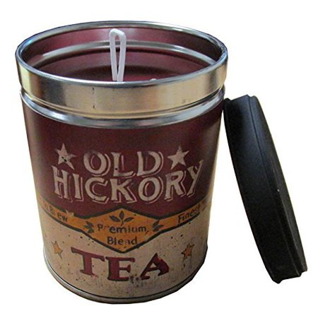Old World Cradle - Sweet Tea & Lemon Scented Candle in 13 oz Tin with Old Hickory Tea Label by Linda Spivey - Made in the USA by Our Own Candle Company