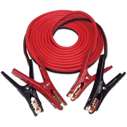 Justin Case 20' 4-Guage Booster Cable with 365-Day Roadside Assistance