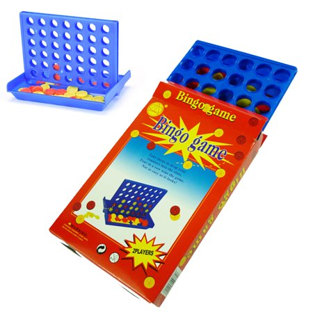 Three In A Row Games (4 in A Row Game, Connect Game Portable Four Up Board Games Toy for Family Kids Adults Gifts - 3)