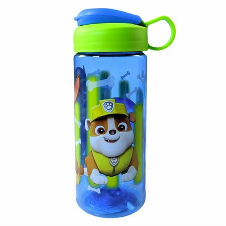 Paw Patrol from Nickelodeon 16.5oz Water Bottle Carry Loop Snap