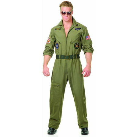 Top Gun Men's Adult Halloween Costume - Halloween Tommy Gun