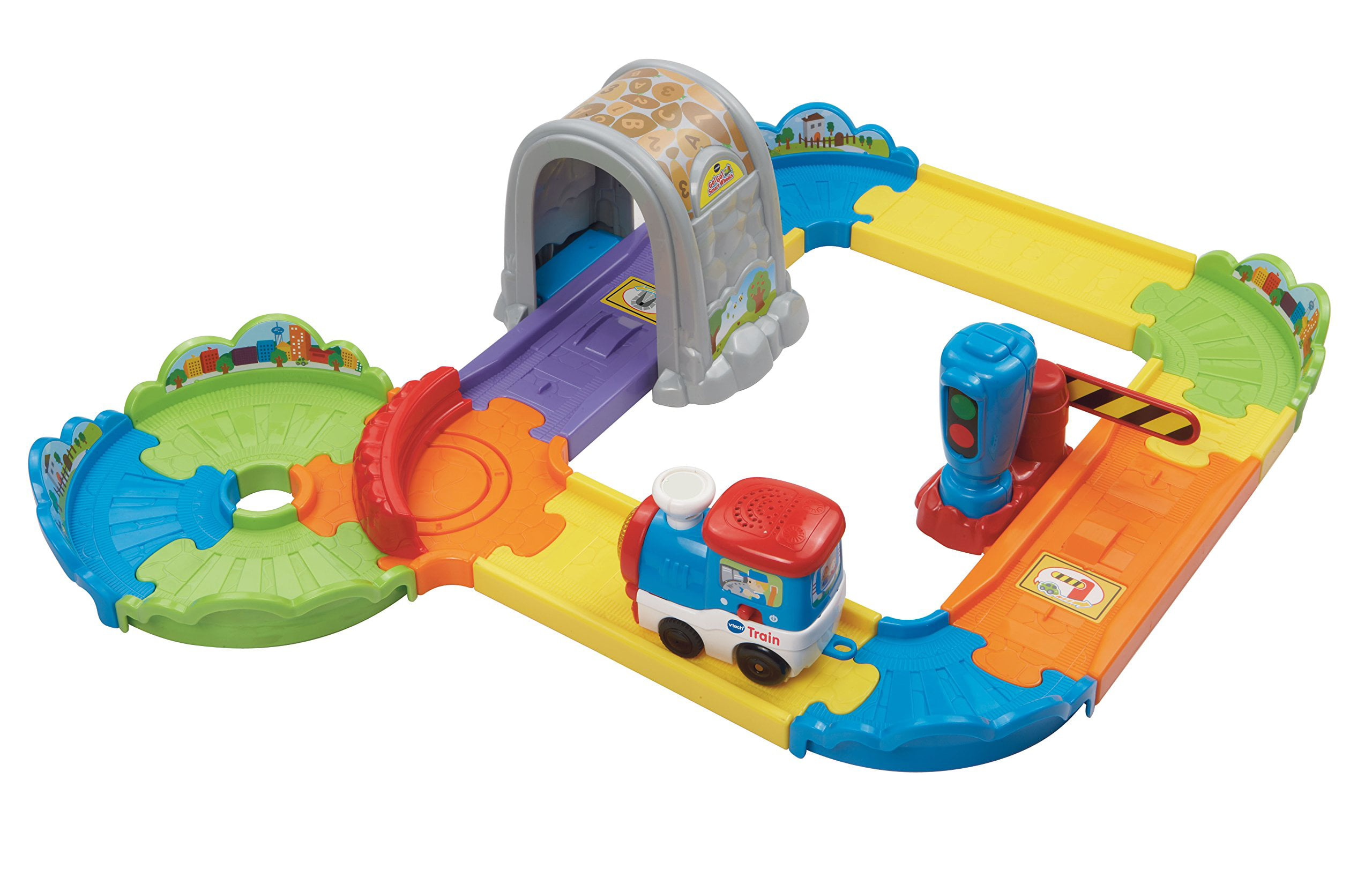 VTech Go! Go! Smart Wheels Choo-Choo Train Playset by V Tech