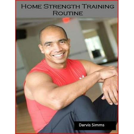 Home Strength Training Routine - eBook