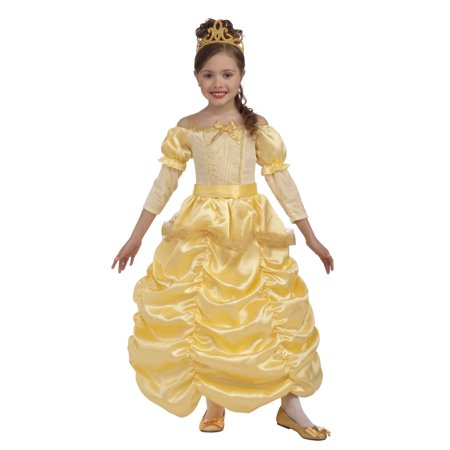 Girls Beautiful Princess Costume (Plus Size Princess Belle Costume)
