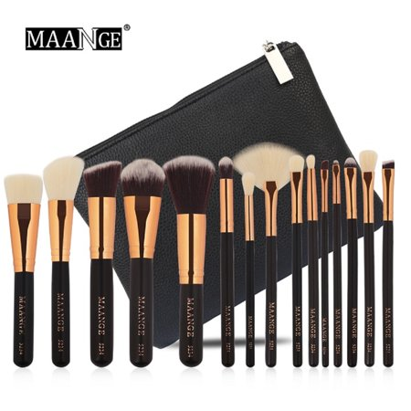 15Pcs Eyeshadow/Concealer/Eyeliner/Blending/Eyebrow Eye Lip Make up Brushes Set Best