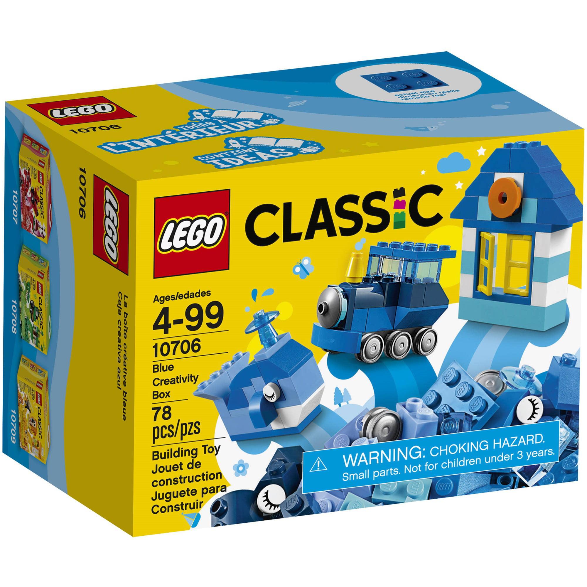 LEGO¨ Classic Blue Creativity Box 10706 (78 Pieces)