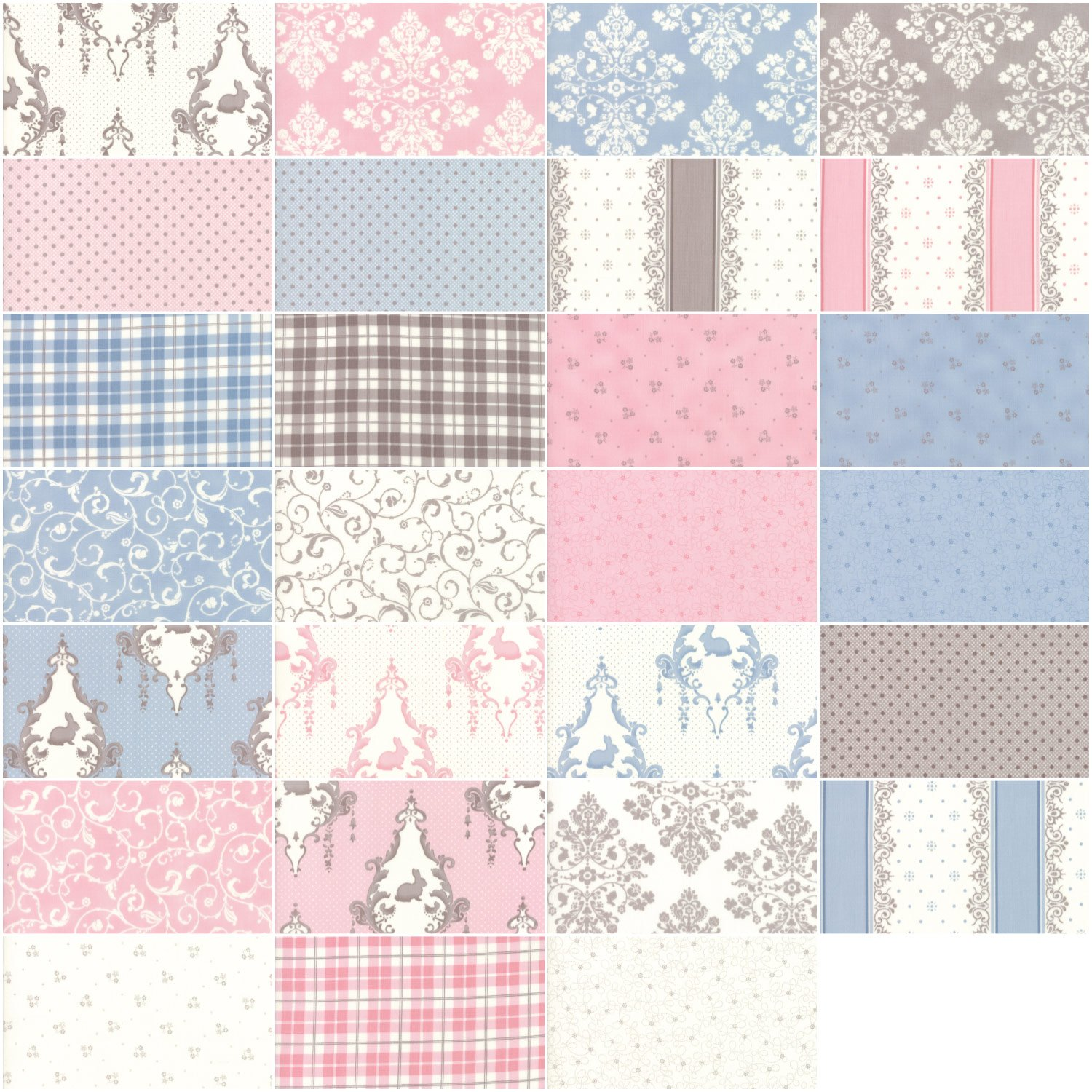 Lily and Will Revisited Layer Cake 42 10-inch Squares Moda Fabrics