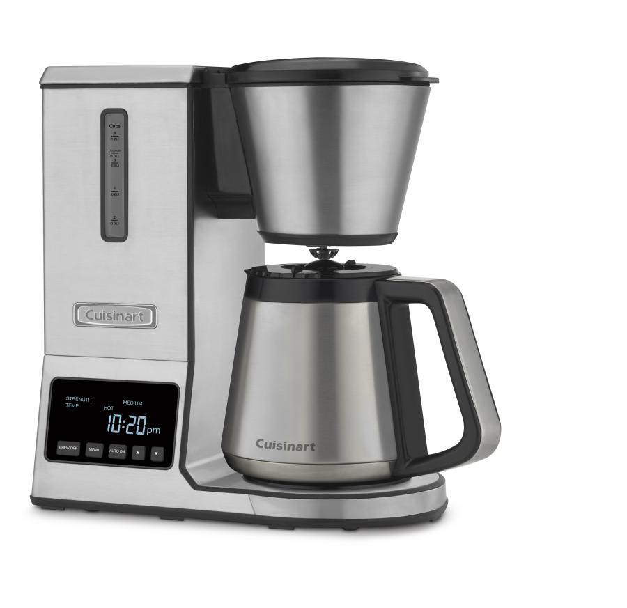 Cuisinart PurePrecision 8 Cup Pour-Over Coffee Brewer with Thermal Carafe, Stainless Steel