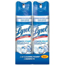 Bathroom Cleaner: Lysol Power Foam