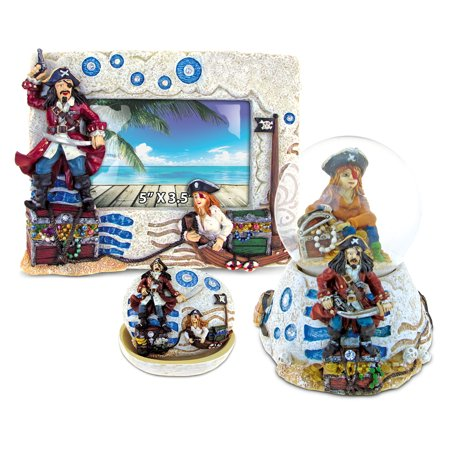 Puzzled Pirate Resin Stone Finish Collection Including Picturephoto