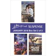 Harlequin Love Inspired Suspense January 2018 - Box Set 2 of 2 - eBook