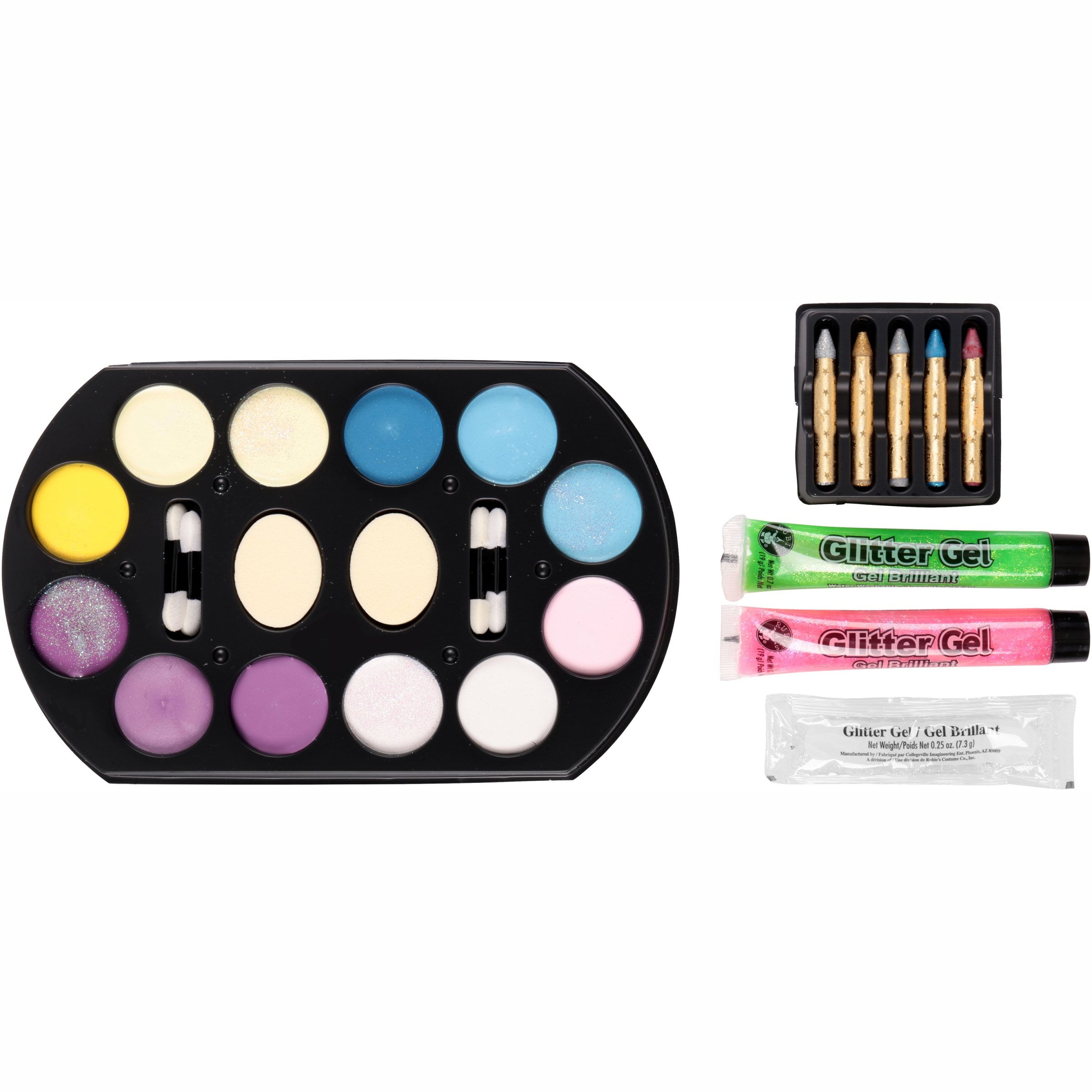 Rubies Glitter Fashion Makeup Set 9 pc Pack