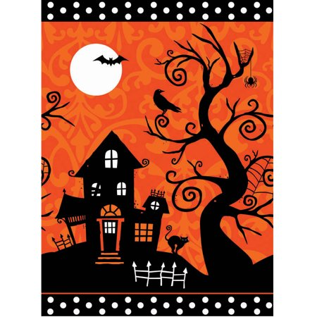 Frightfully Fancy Halloween Plastic Table Cover](Halloween Table Cover)