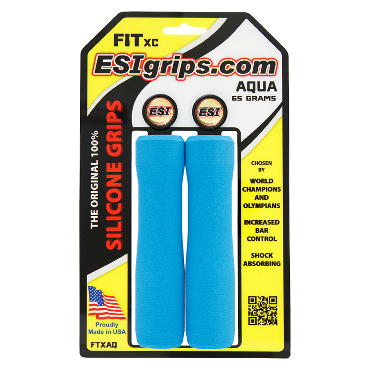 ESI Fit XC Extra Chunky/Chunky Mix Bicycle Handlebar Grips
