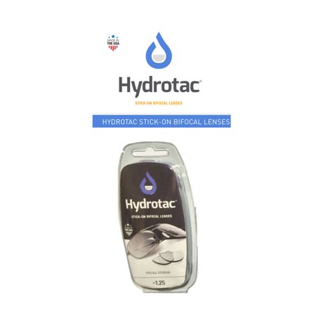 Hydrotac Stick-on Bifocal Lenses (OPTX 20/20)- +1.25 Diopter - image 1 of 1