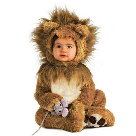 Lion Infant Jumpsuit Halloween Costume (Cat Jumpsuit Costume)
