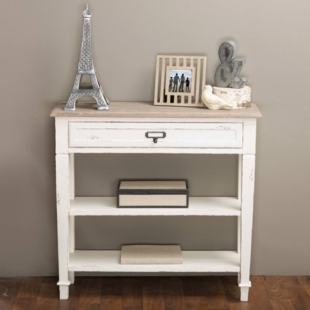 Dauphine Traditional French Accent Console Table, 1 Drawer