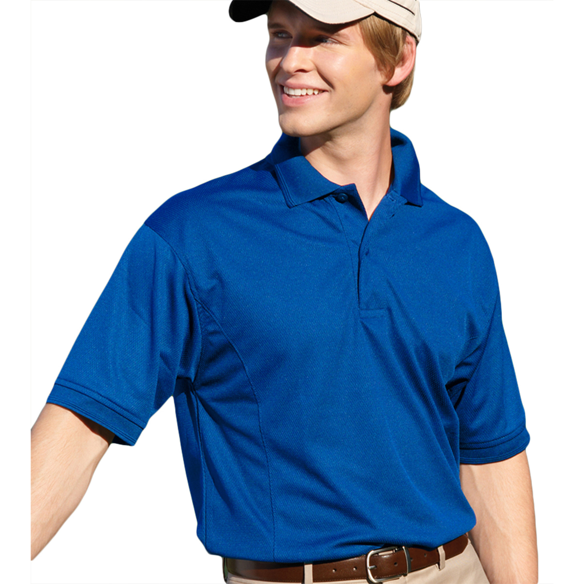 00820599181146 MENS PERFORMANCE GOLF SHIRT 2800 ROYAL 3XL