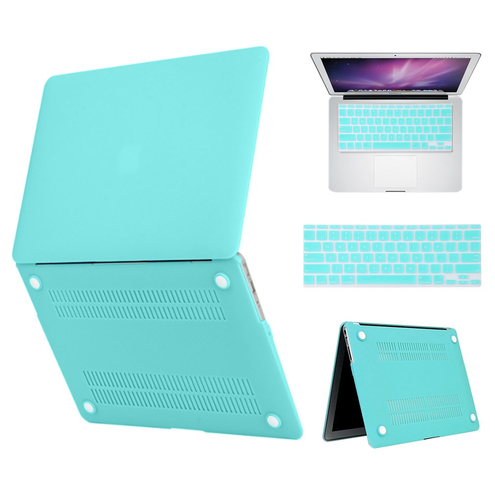 Keyboard Cover Hard Case Protective Screen Zipper Bag For MACBOOK-AIR 13Inch