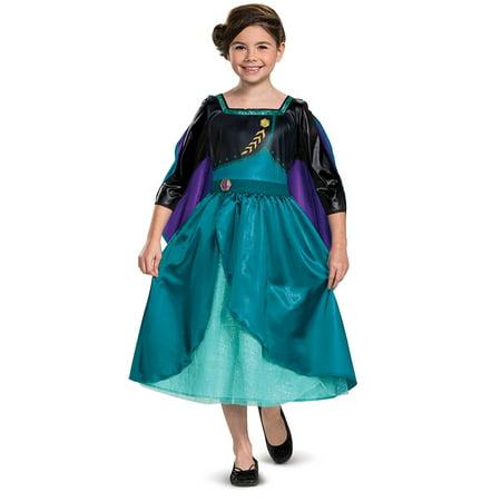 Disguise Frozen 2 Girls Classic Queen Anna Halloween Costume