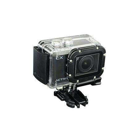 - Refurbished ACTIVEON CX CCA10W 1080p 5MP Action Camera Waterproof Camcorder w/ Photo Capture
