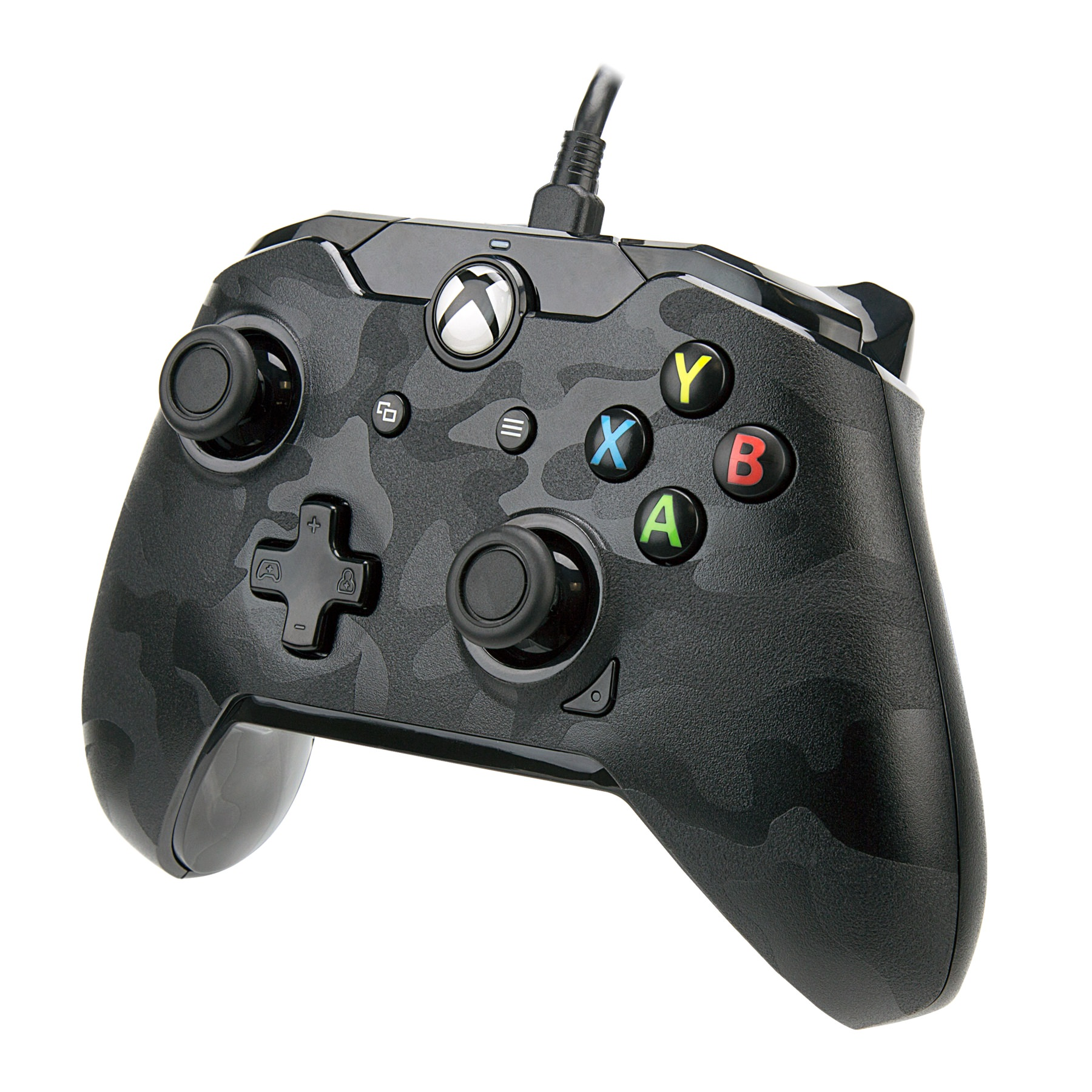 PDP Xbox One, Stealth Series Wired Controller, Phantom Black, 048-082-NA-CM00