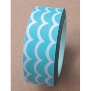 Love My Tapes Washi Tape 15mmX10m-Aqua Scallop - Case Pack of 3