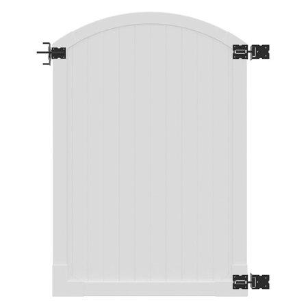 Wam Bam Premium Arched Vinyl Gate - 6 ft.