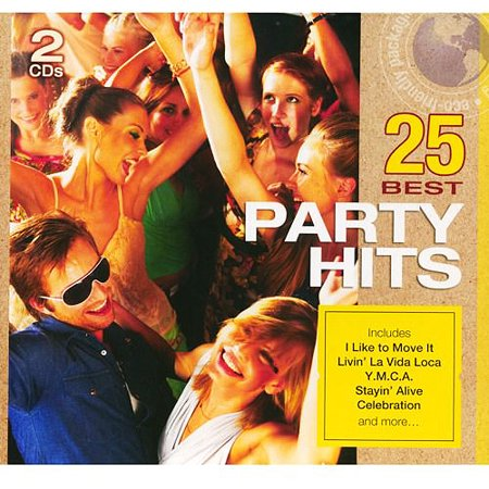 25 Best Party Hits (2CD) (Eco-Friendly Package) (Best Russian Pop Singers)