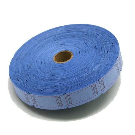 Blank Tickets (Blue Blank Ticket Roll)