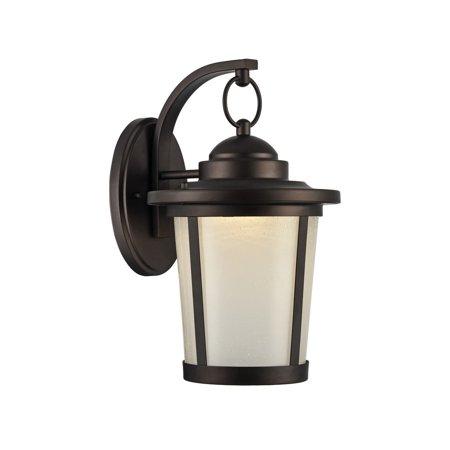 Chloe  Abbington Collection 1-light Oil Rubbed Bronze Outdoor LED Wall Lantern (Addington Collection)
