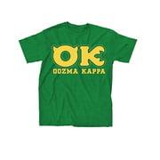 Monsters University OK Oozma Kappa Member Adult Green T-Shirt