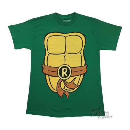 Teenage Mutant Ninja Turtles Raphael Costume TMNT Adult T-Shirt (Ninja Turtle Costume Shirt)