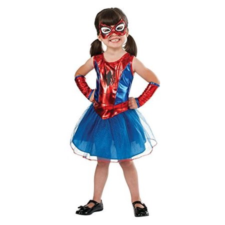 Rubie\'s Marvel Classic Child\'s Spider-Girl Costume, Toddler