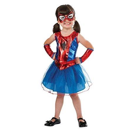 Rubie\'s Marvel Classic Child\'s Spider-Girl Costume, Toddler