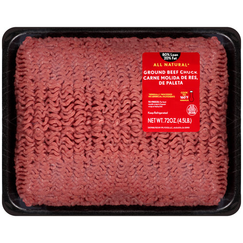 4.5lb 80 20 Ground Beef Chuck Tray by Generic