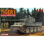 Dragon Models 1/35 Scale Pz.Kpfw. VI Ausf. E (Sd.Kfz. 181) Tiger I Initial Type 3-in-1 Kit