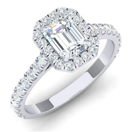 Dazzlingrock Collection 0.50 Carat (ctw) Platinum Round White Diamond Ladies Bridal Semi Mount Engagement Ring 1/2 CT, Size 4.5 Diamond Platinum Engagement Ring Mounting