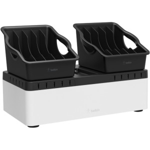 Belkin Store and Charge Go with Portable Trays (USB Compatible) - Wired