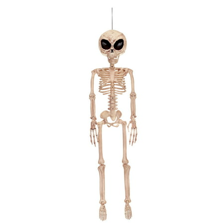 Alien Skeleton Halloween Decoration](Halloween Office Decorations Photo)