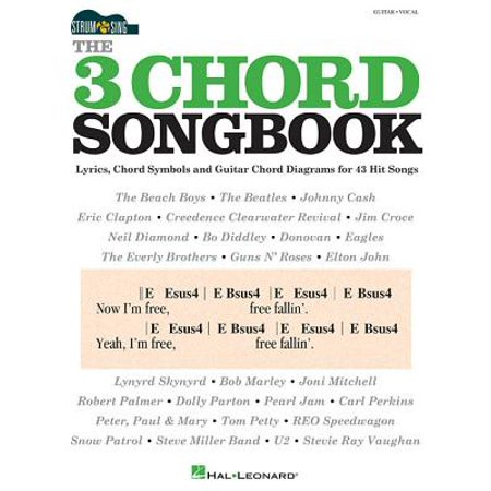 The 3 Chord Songbook - Strum & Sing Guitar