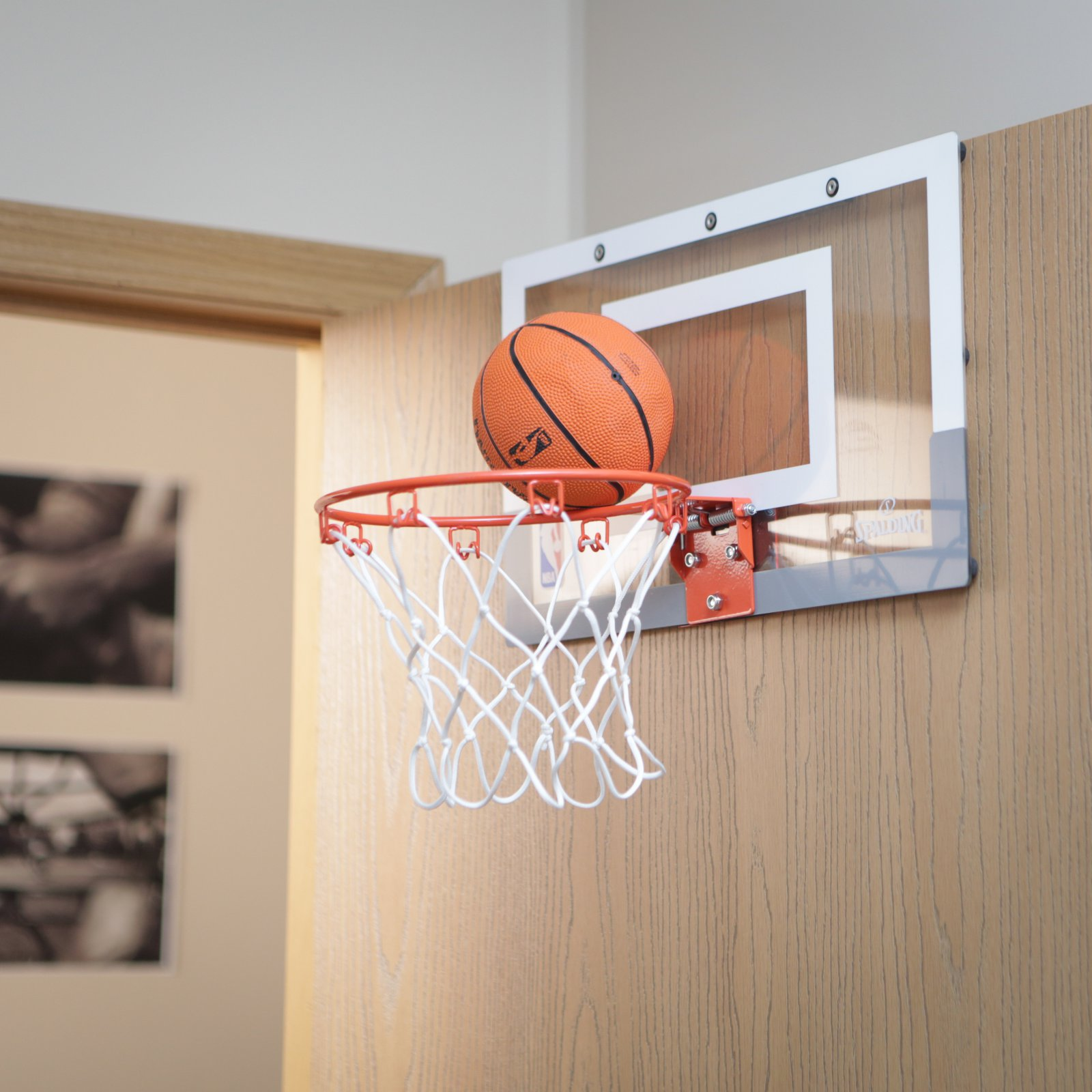 Spalding NBA Slam Jam Over-The-Door Mini Hoop