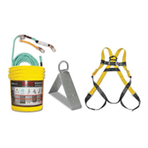 Qualcraft 00815 Qc Bucket Of Rooftop Safety 5 Point Harness 50 Lifeline Kit