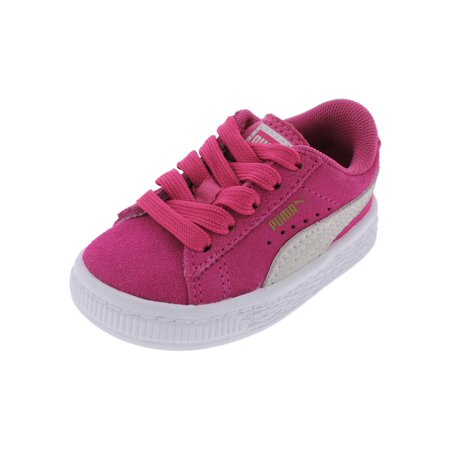2101585711c3 Puma Girls Lowtop Casual Fashion Sneakers - Walmart.com