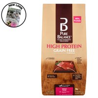 Pure Balance High Protein Grain Free Formula Salmon Recipe Food for Cats, 3 lb