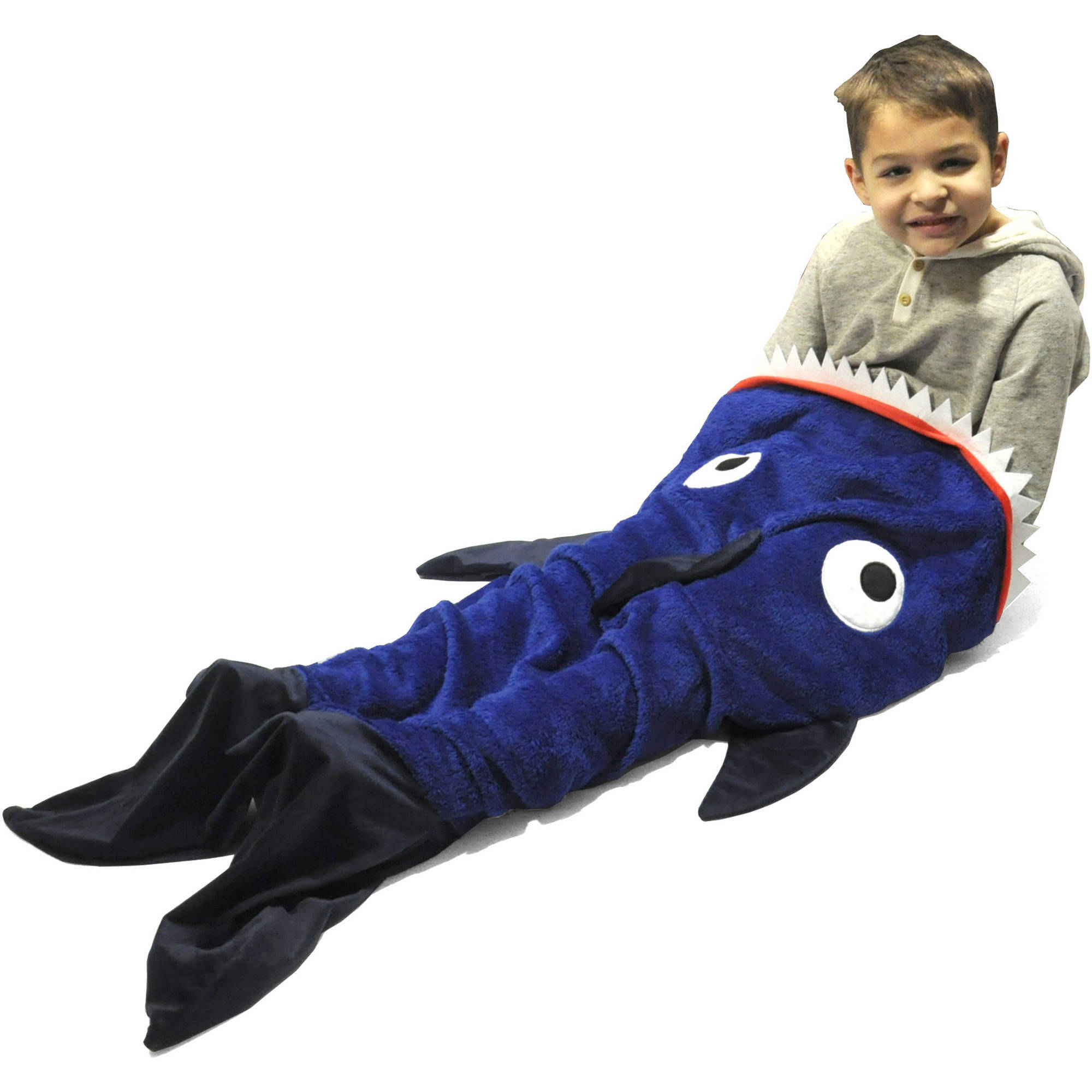 American Kids Shark Tail Blanket
