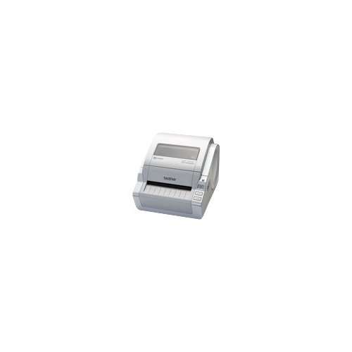 Brother TD-4100N Direct Thermal Printer Monochrome Desktop Label Print 4.29 in s Mono 300 x 300 dpi Fast Ethernet USB... by Brother