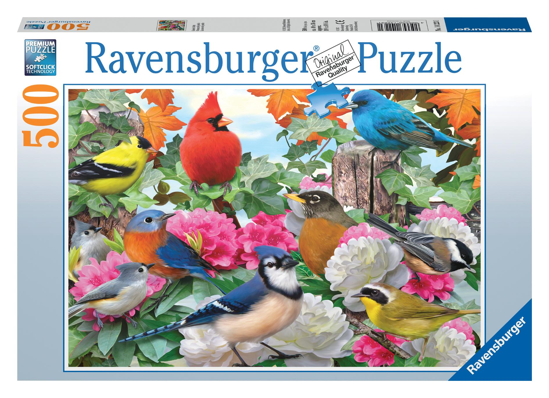 Garden Birds 500 Piece Puzzle (Other) by Generic